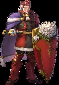 Rudolf Emperor of Rigel Heroes