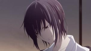 Akito smiles