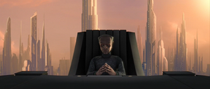 Chancellor Palpatine whelmed