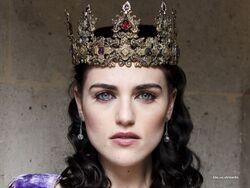 Crowned Morgana Pendragon