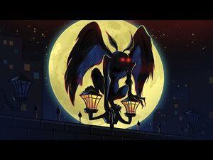 Death Predicting Monster - The Mothman - Horror Animation