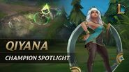 Qiyana Champion Spotlight Gameplay - League of Legends