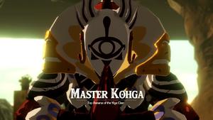 Top Banana of the Yiga Clan Master Kohga