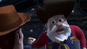 Amenazando a Woody