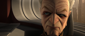 Chancellor Palpatine cantankerous