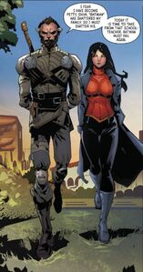 Lady Shiva and Ra's al Ghul