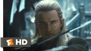 The Hobbit The Desolation of Smaug - Legolas vs