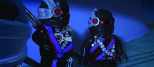 Min-Droid and Nindroid Warroir