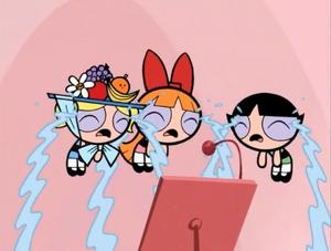 The Powerpuff Girls Crying
