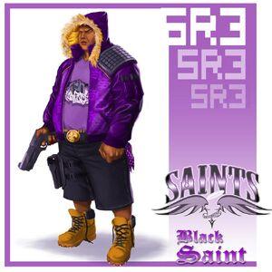 Black Saint Concept Art