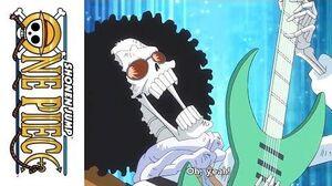 One Piece - Official Clip - Brook v