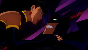 Superwoman and Batman