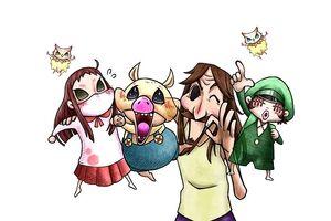 The Family in Kaoru's Precious Thing