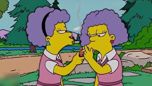 Young marge's sisters