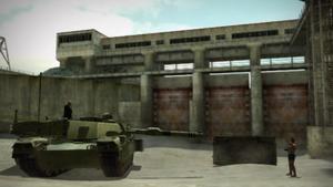 Brock on Tank