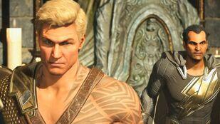 Black Adam and Aquaman Injustice 2
