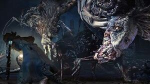 Bloodborne Ludwig the Accursed, Holy Blade Boss Fight (1080p)