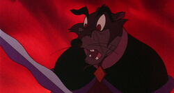 Jenner noticing Brisby's necklace