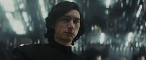 Kylo meets Rey on the Supremacy