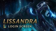 Lissandra, the Ice Witch Login Screen - League of Legends