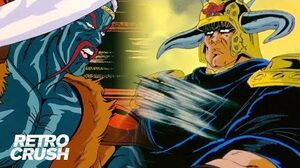Raoh always flexes hard because he never gets off the horse 'Fist of the North Star' 北斗の拳 (Subbed)