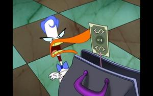 The Duck has 1 Dollar
