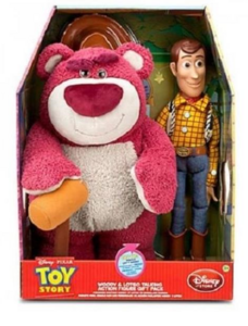 Woody and Lotso pack