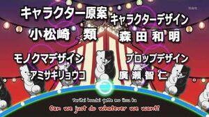 Danganronpa The Animation OP3 - Monokuma's song