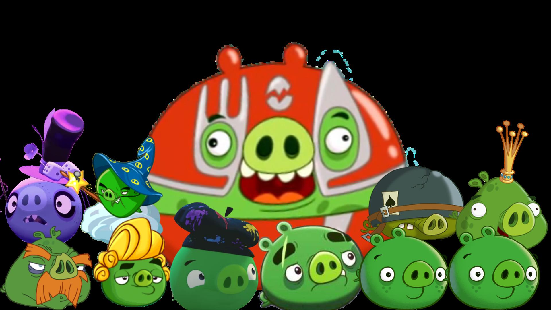 Green Pigs