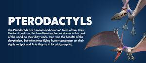 Pterodactyls Information