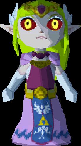 Zelda's body