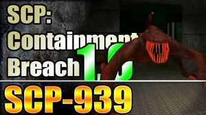 *NEW* SCP-939 - SCP Containment Breach v1