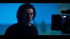 Adam Driver on Ben Solo and his relationship with Rey BTS - The Rise of Skywalker documentary