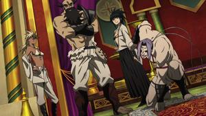 Four Kouken Temple Rakshasa Demons Anime