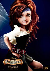 French Poster - Zarina