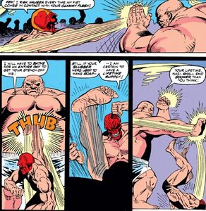 Johann Shmidt (Earth-616) and Wilson Fisk (Earth-616) from Captain America 378 0002