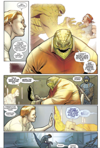 Killer Croc and Roy Harper 4