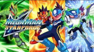 Mega Man Star Force OST - T17 Dust Crash (Scrap Comp - Gemini Spark's Stage)
