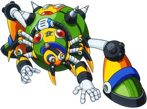 Megaman X4 - Boss 1 Web Spider.jpeg