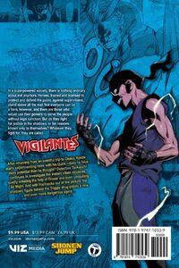 My Hero Academia Vigilantes Manga Volume 6 Back Cover