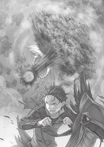 ReZero Volume 7 Flugel Tree falls on the Whale Illustration