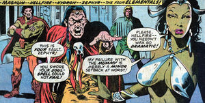 The Elementals (Marvel) 0004