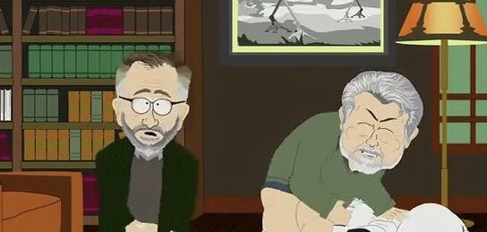 Steven Spielberg & George Lucas (South Park)