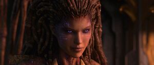 Kerrigan queen of blades starcraft by plank 69 d9d9ajl-fullview