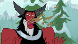 Lord Tirek gets a face full of dirt S9E8