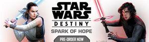 Star Wars Destiny Spark of Hope