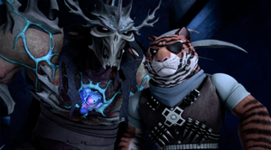 Tiger Claw Given Commands By Super Shredder