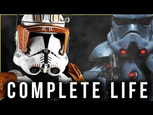 Commander Cody CC-2224 - The COMPLETE LIFE Story - (Canon & Legends)