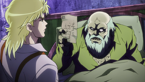 Dio with his dying father
