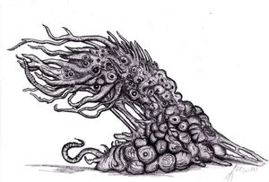 Lovecraft shoggoth terrastial i by kingovrats-d4zdjoq